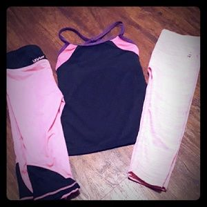 Girls 4/5 Athletic Under Armour Cheer Dance Lot